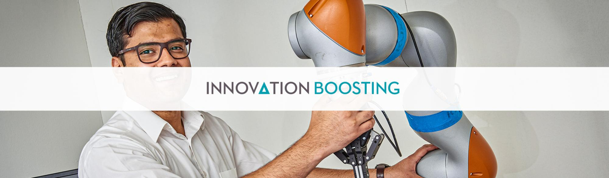 Innovation Boosting Banner